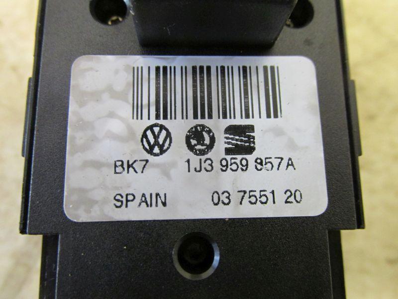 Schalter Fensterheber Fahrertür, 2-fachSKODA FABIA COMBI (6Y5) 1.4 TDI