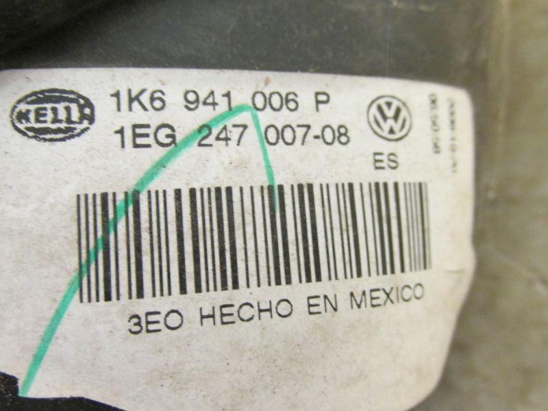 Hauptscheinwerfer rechts VW GOLF V VARIANT (1K5) 1.9 TDI