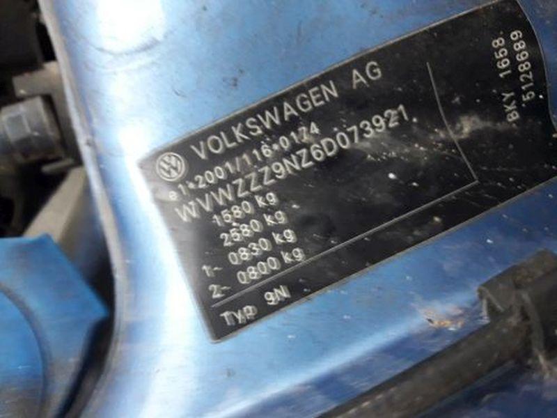 VW POLO (9N_) 1.4 16V