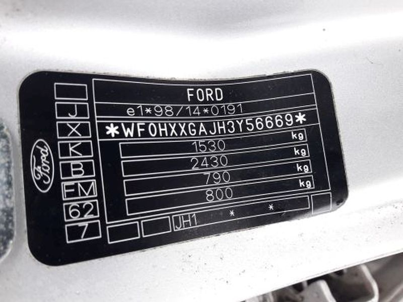 FORD FIESTA V (JH_, JD_) 1.4 16V
