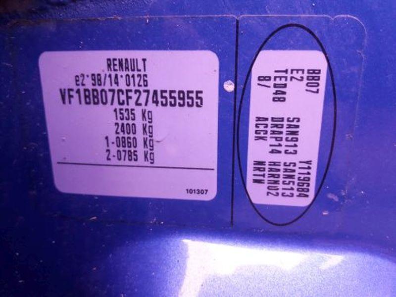 RENAULT CLIO II (BB0/1/2_, CB0/1/2_) 1.5 DCI