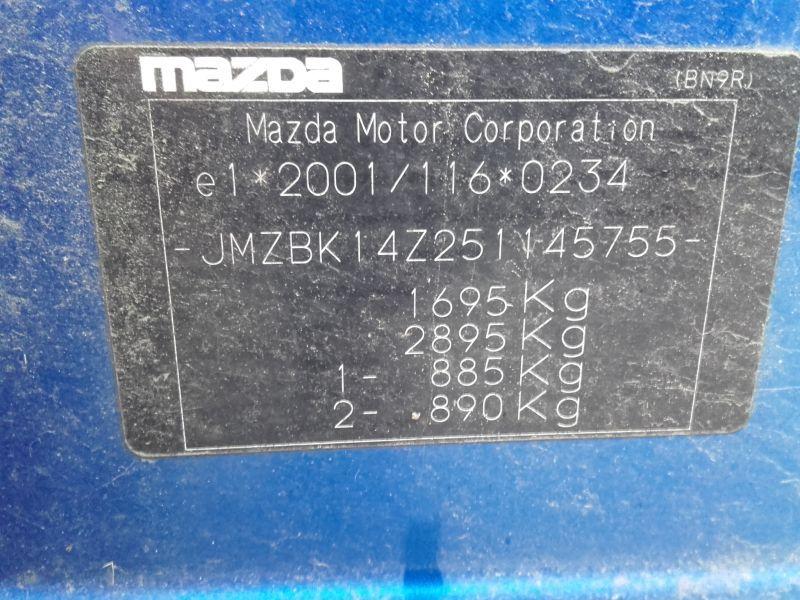 MAZDA 3 (BK) 1.6