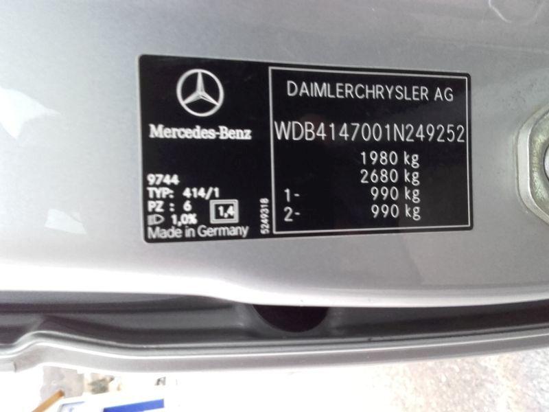 MERCEDES-BENZ VANEO (414) 1.7 CDI