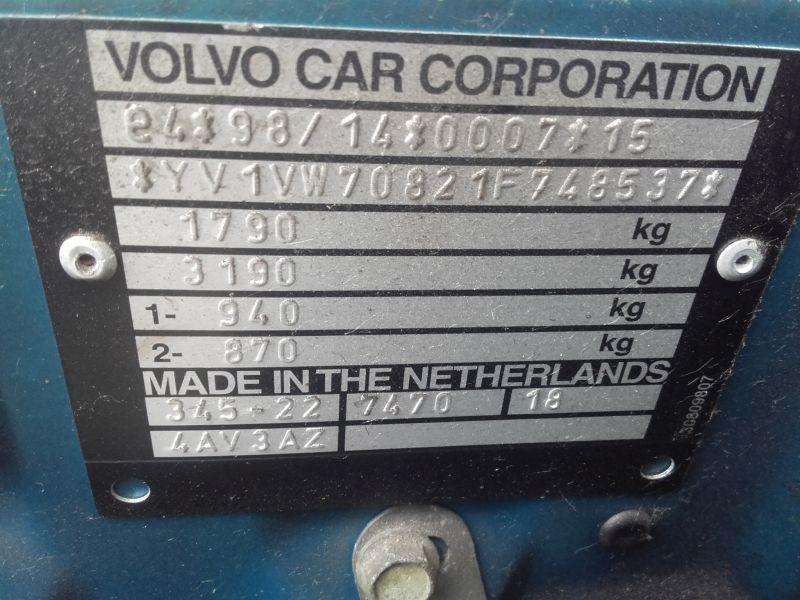 VOLVO S40 / V40 LIM./KOMBI (TYP:V)