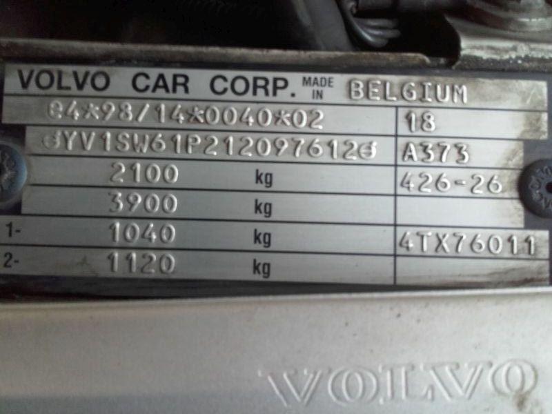VOLVO V70 II (P80_) 2.4